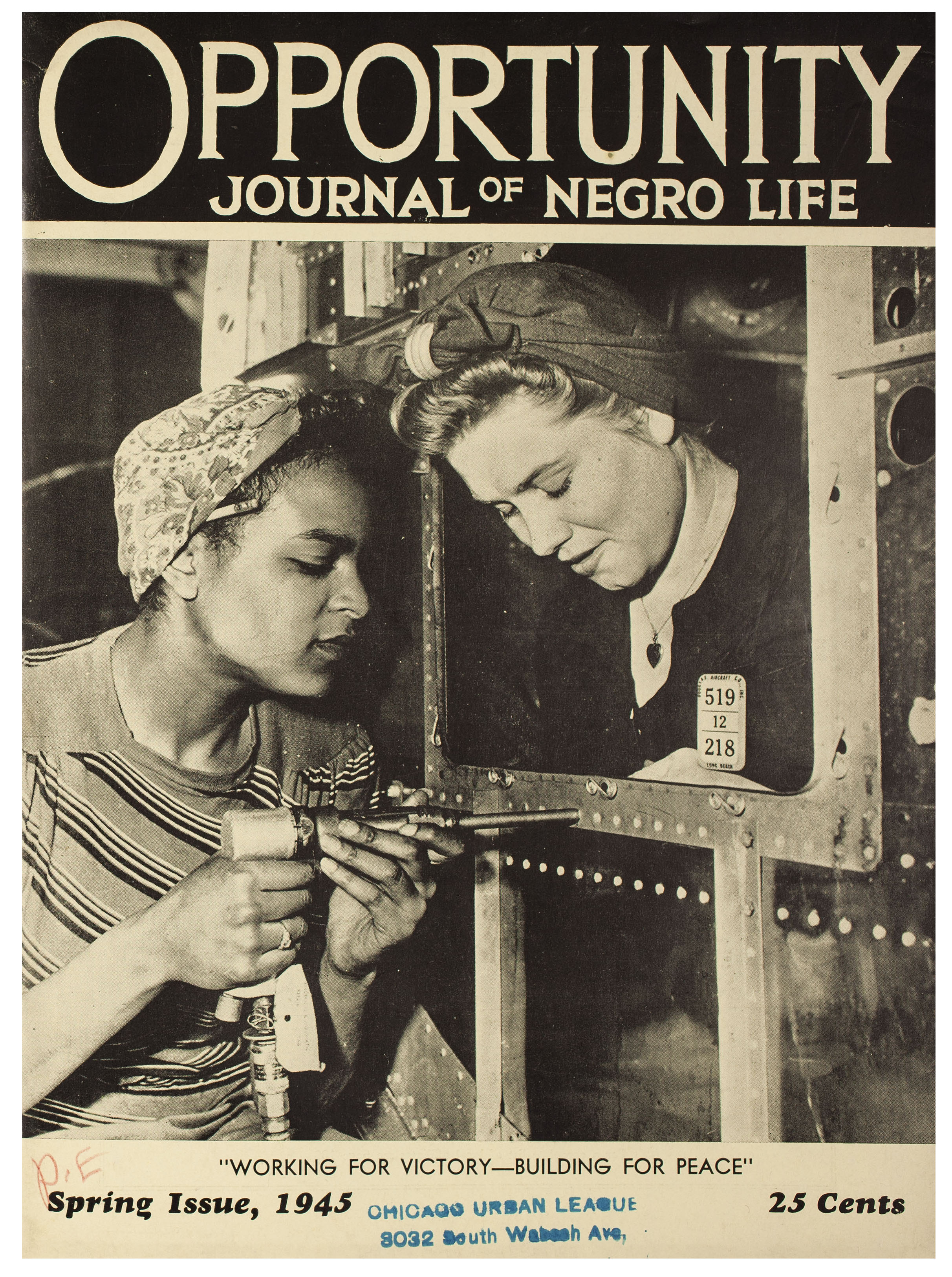 Opportunity Journal of Negro Life